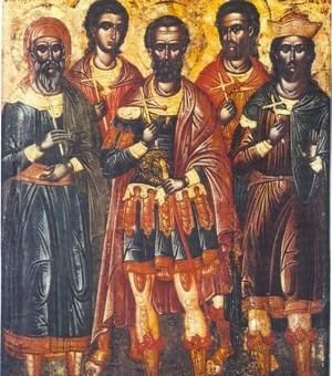Η εορτή των Πέντε Μαρτύρων στο Ορφάνιο