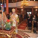 Ο Σεβασμιώτατος Μητροπολίτης στον Άγιο Νικόλαο Νέας Περάμου