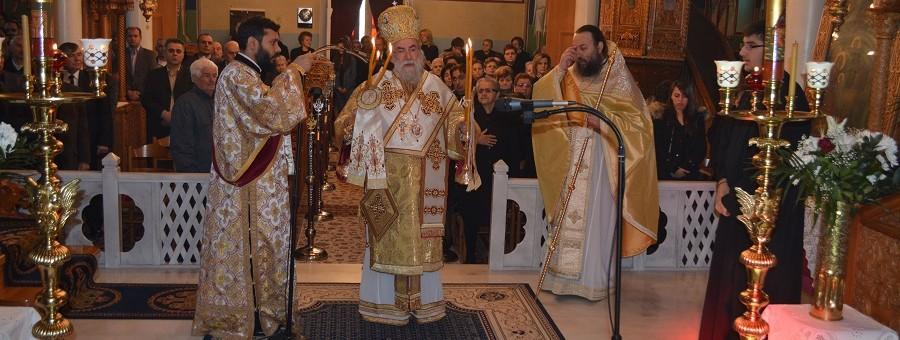 Κυριακή Δ΄ Νηστειών στον Ιερό Ναό του Τιμίου Σταυρού Γεωργιανής