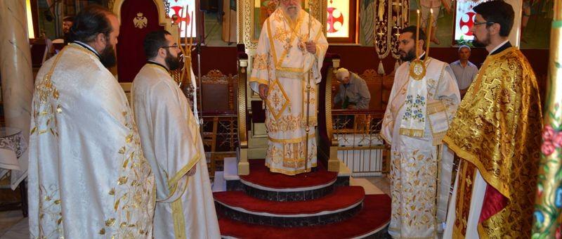 Κυριακή της Πεντηκοστής στον Καθεδρικό Ναό του Αγίου Ελευθερίου