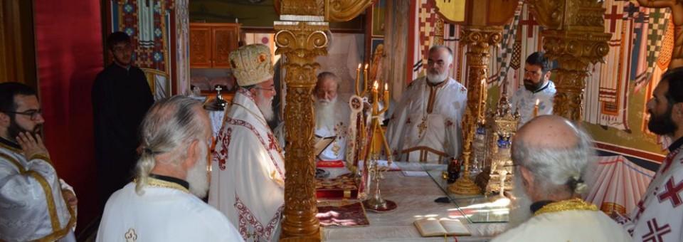 Εορτή Ιεράς Μονής Αγίου Παντελεήμονος Χρυσοκάστρου