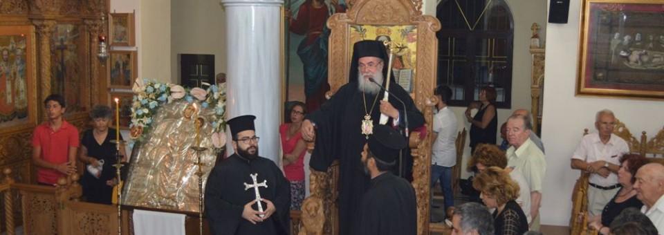 Ο Μέγας Παρακλητικός Κανών στην Παναγία Νέας Ηρακλείτσης