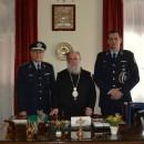 Επίσκεψη του νέου Αστυνομικού Διευθυντή Καβάλας στον Μητροπολίτη