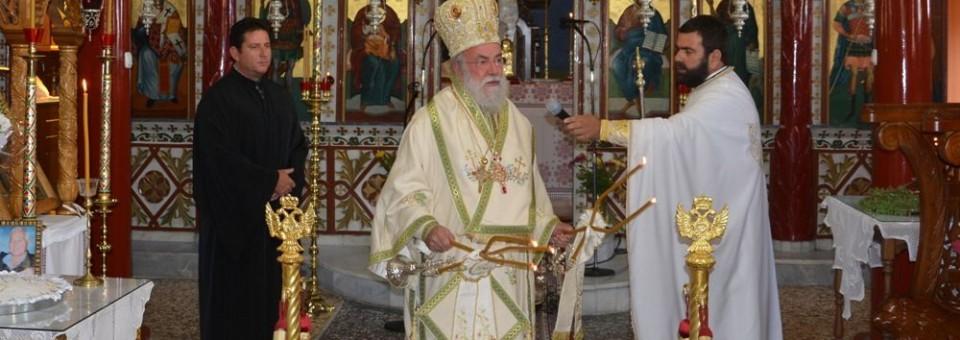 Κυριακή μετά την εορτή της Υψώσεως του Τιμίου Σταυρού στην Φωλιά Παγγαίου