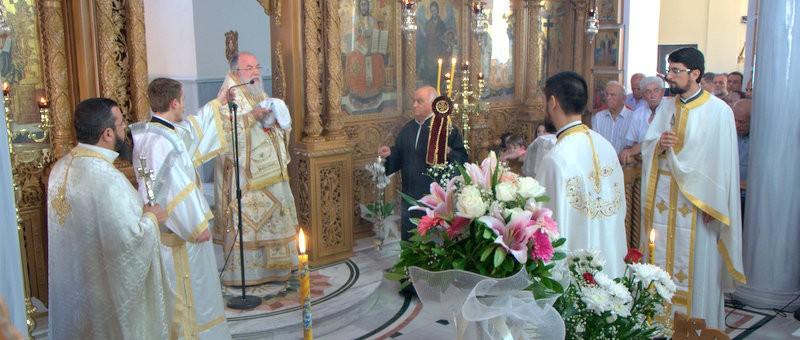Κυριακή Ε΄ Ματθαίου στον Ιερό Ναό Παναγίας Φανερωμένης Ν. Ηρακλείτσης