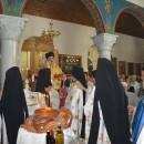 Πλήθος πιστών στην Παναγία Νέας Ηρακλείτσης