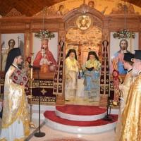 Εγκαίνια Ιερού Ναού Αποστόλου Ανδρέου στον Άγιο Ανδρέα Παγγαίου