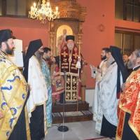 Ο Εσπερινός του Ευαγγελισμού της Θεοτόκου στα Δωμάτια Παγγαίου