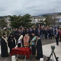 Ο εορτασμός της 25ης Μαρτίου στην Ι.Μ. Ελευθερουπόλεως