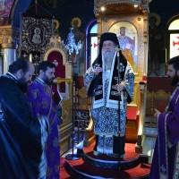 Προηγιασμένη Θεία Λειτουργία της Μ. Δευτέρας στον Ι. Ν. Αγίου Ελευθερίου