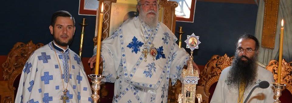Κυριακή Ε΄ Ματθαίου στον Μητροπολιτικό Ναό του Αγίου Νικολάου Ελευθερουπόλεως