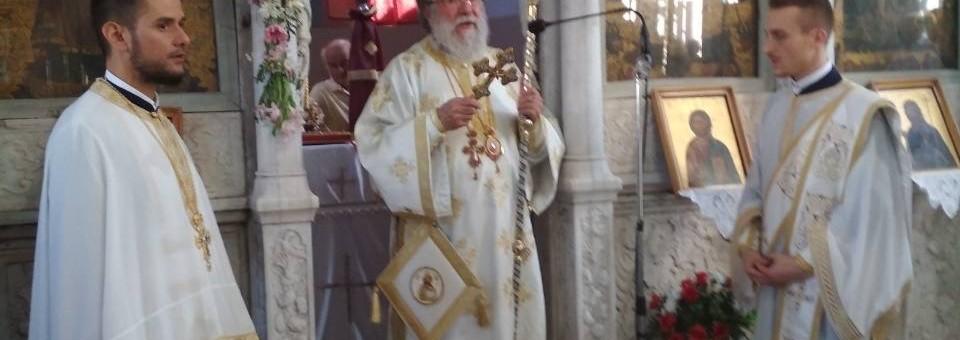 Ο Σεβασμιώτατος Ποιμενάρχης μας κ. Χρυσόστομος στην γενέτειρα του Λέσβο.