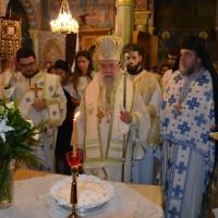 Η εορτή του Αγίου Τριανταφύλλου του εκ Ζαγοράς στον Άγ. Χριστόφορο Παγγαίου