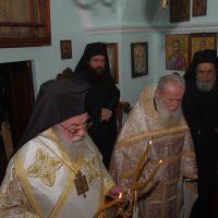 Ο Σεβασμιώτατος Ποιμενάρχης μας κ. Χρυσόστομος στο Άγιο Όρος για την εορτή του Αγίου Τρύφωνος