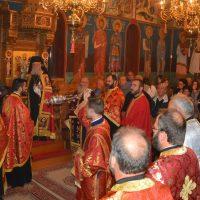 Εσπερινός Εορτής Αγίου Δημητρίου στην Γαληψό Παγγαίου