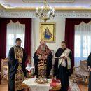Ευλογία Βασιλόπιτας υπαλλήλων Ιεράς Μητρόπολης Ελευθερουπόλεως