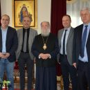 Εθιμοτυπική επίσκεψη του Υφυπουργού Εσωτερικών (Μακεδονίας – Θράκης) κ. Θεόδωρου Καράογλου στον Σεβασμιώτατο Ποιμενάρχη μας κ. Χρυσόστομο