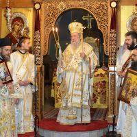 Αγρυπνία επί τη εορτή της Αποδόσεως του Πάσχα στην Ελευθερούπολη
