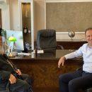 Επίσκεψη Σεβασμιωτάτου Μητροπολίτη Ελευθερουπόλεως στο Δήμαρχο Παγγαίου