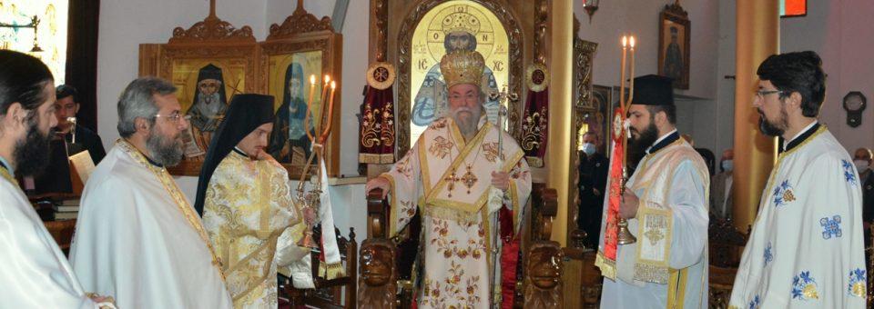 Εορτή της Παναγίας Γοργοϋπηκόου στην Ιερά Μονή Αγίου Δημητρίου Παγγαίου