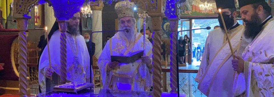 Ο Επιτάφιος Θρήνος στον Ιερό Ναό Αγίου Ελευθερίου Ελευθερουπόλεως