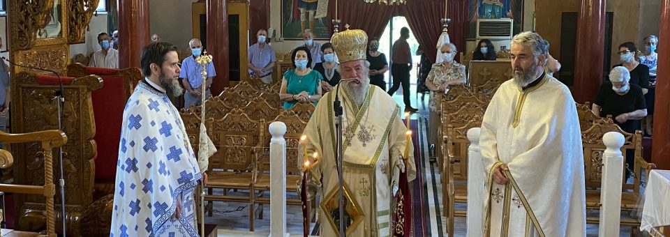 Η Αποτομή της Τιμίας Κεφαλής του Αγίου Ιωάννου στον Μεσότοπο Παγγαίου