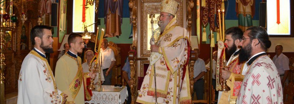 Κυριακή των Αγίων Πάντων στον Ιερό Ναό Αγίου Νικολάου Νέας Περάμου