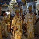 Η Απόδοση της Κοιμήσεως της Θεοτόκου στο Ιερό Προσκύνημα Παναγίας Φανερωμένης Νέας Ηρακλείτσης