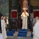 Ο Σεβασμιώτατος Ποιμενάρχης μας κ. Χρυσόστομος στον Ιερό Ναό Αγίου Θεράποντος Μυτιλήνης