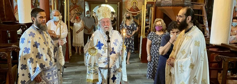Η Εορτή του Προφήτου Ηλιού στην Παλαιά Αυλή Παγγαίου